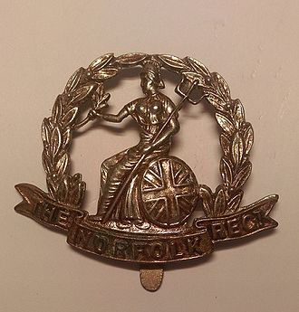 Royal Norfolk Regiment - Cap badge of the Royal Norfolk Regiment.