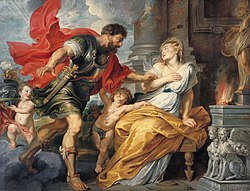 Peter Paul Rubens: Mars and Rhea Silvia