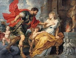 1617 in art - Image: Rubens Mars et Rhea Silvia