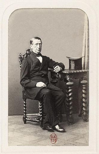 Minister President of Prussia - Image: Rudolf von Auerswald Haase BNF Gallica