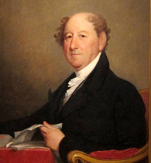 Rufus King - Rufus King by Gilbert Stuart, 1819