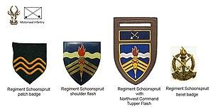 Regiment Skoonspruit - SADF era Regiment Schoonspruit insignia