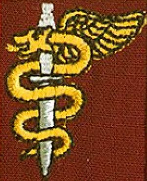 44 Medical Task Group - SANDF Ops medic proficiency badge