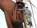 SB Ironsides stowing the topsail 7109.JPG