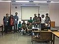 SCCS Bangalore Wikimedia Commons Workshop participants.JPG