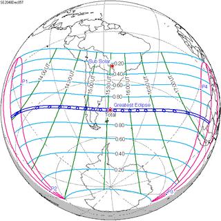 Solar eclipse of December 5, 2048 solar eclipse