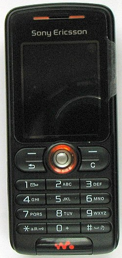 Image illustrative de l'article Sony Ericsson W200i