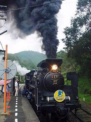 Tsuwano, Shimane - The Yamaguchi-gō steam engine