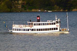 SS <i>Drottningholm</i> (1909) Strömma Kanalbolaget passenger ferry and listed historic ship in Sweden
