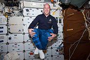 STS132 FD2 Garrett Reisman in middeck