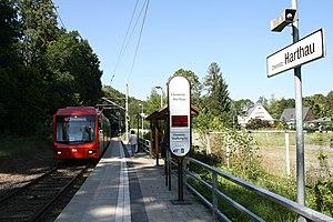 City-Bahn Chemnitz - Image: S Haltepunkt Chemnitz Harthau 2009