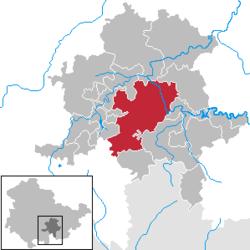Saalfeld-Saale in SLF