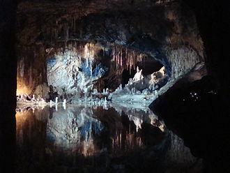 Saalfeld Fairy Grottoes - Image: Saalfelder Feengrotte 2013