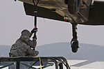 Safe and secure, MNBG-E Soldiers train on sling load operations 150706-A-RN359-007.jpg