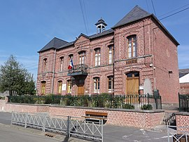 The town hall in Saint-Hilaire-sur-Helpe