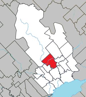 Saint-Paulin, Quebec - Image: Saint Paulin Quebec location diagram