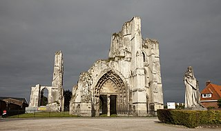 Abbey of Saint Bertin abbey located in Pas-de-Calais, in France