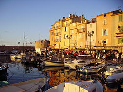 Port de Saint Tropez, ciutat on va morir Louis Dureu
