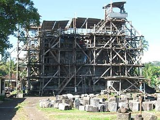 Sojiwan - Sojiwan temple, during reconstruction
