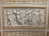 Salle de Diane (Louvre) - Danse des Amazones à la fondation du temple de Diane à Éphèse.jpg