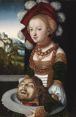 Salome with the head of Saint John the Baptist
