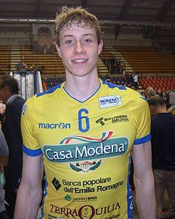 Sam Deroo Belgian volleyball player