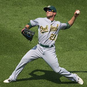 Sam Fuld - Fuld with the Oakland Athletics