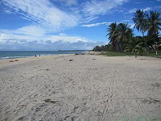 Sava Region - Beach at Sambava, Sava
