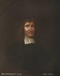 Samuel Annesley Puritan/nonconformist pastor