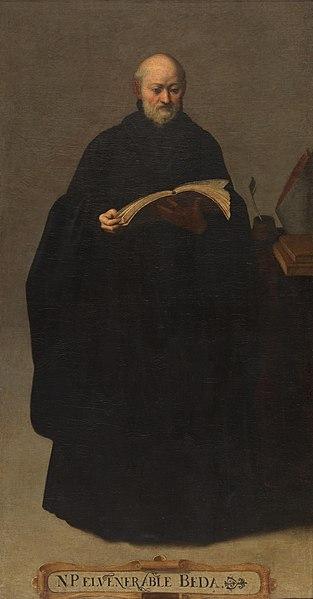 File:San Beda, de Bartolomé Román (Museo del Prado).jpg