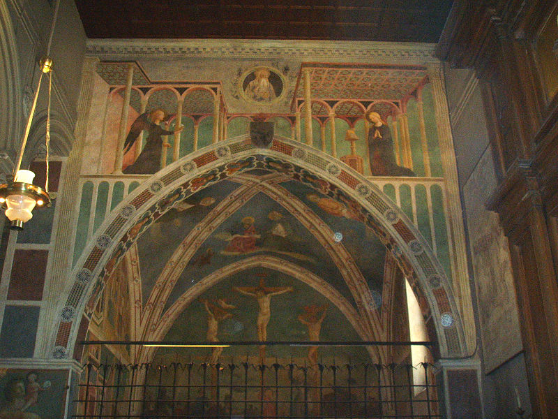 Image:San Clemente, Cappella di Santa Caterina (Masolino) 1.JPG