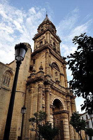 Church of San Miguel (Jerez de la Frontera) - Image: San Miguel Fachada Jerez