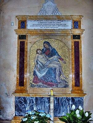 Alberto di Jorio - Tomb of Cardinal di Jorio in Santa Pudenziana, Rome