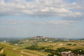 A general view of Sancerre
