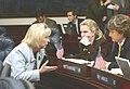 Sandy Adams, Kim Berfield, and Nancy Detert confer on the House floor.jpg