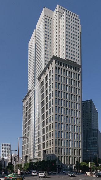 NTT DoCoMo - Sanno Park Tower, home of NTT Docomo's headquarters