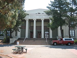 San Rafael High School - Image: Sanrafaelhighschool