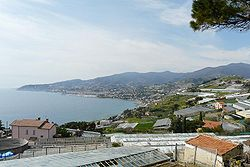 Skyline of Sanremo