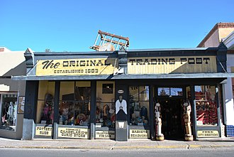 Santa Fe, New Mexico - The trading post established in 1803