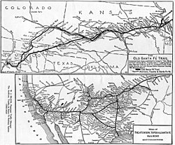 atchison topeka and santa fe railway revolvy Amtrak Business Class vs Coach a parison map prepared by the santa fe railroad in 1921 showing the old santa f trail top and the at sf and its connections bottom