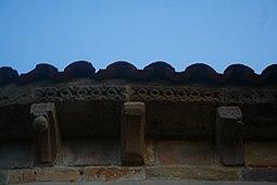 Detalle decorativo del ábside.