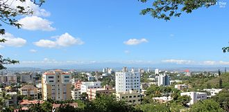 Santiago de los Caballeros - Santiago viewed from Los Cerros de Gurabo.