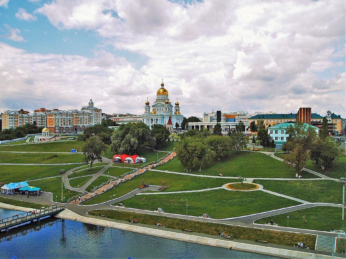Saransk Wikipedia - Saransk map