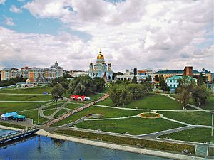Saransk - View of Saransk