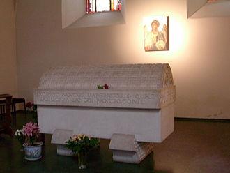 Theophanu - Sarcophagus of Empress Theophanu, St.Pantaleon, Cologne.