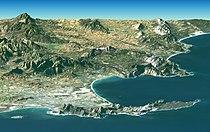 Satellite image of Cape peninsula.jpg
