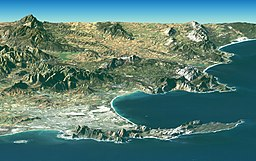 Satellite image of Cape peninsula.jpg