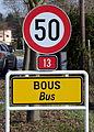 Schëld Bus Richtung Norden.jpg