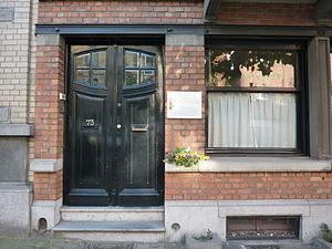 Andrée de Jongh - De Jongh's house in Schaarbeek