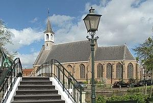 Schipluiden - Image: Schipluiden, de Hervormde Kerk in straatzicht RM33377 foto 1 2014 04 14 11.25
